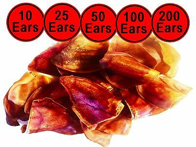 Australian Pig Ears For Dogs Healthy Dog Treat Dog Chew Pet Treats