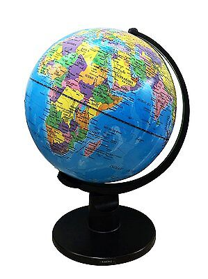 New Large 30cm Swivel Globe World Vintage Rotating Map Earth Atlas Geography