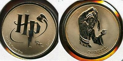 Rare Harry Potter Canada Rcm Reel Coinz Token Featuring Prof Quirrell