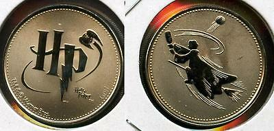 Rare Harry Potter Canada Rcm Reel Coinz Token Featuring Quidditch