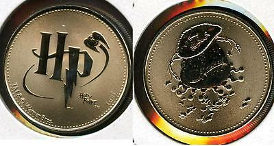 Rare Harry Potter Canada Rcm Reel Coinz Token Featuring Flavored Beans Bag