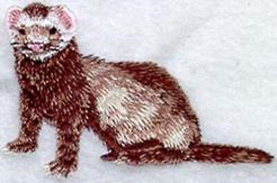Ferret embroidery patch (e)