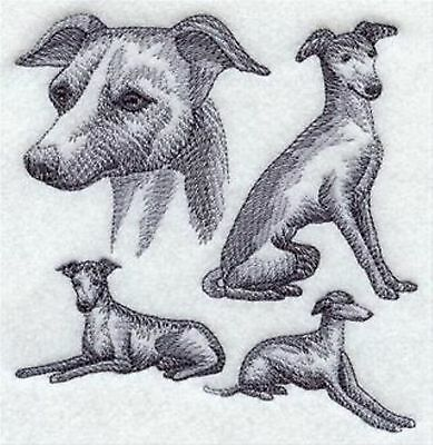 Italian Greyhound Sketch's Embroidery Patch