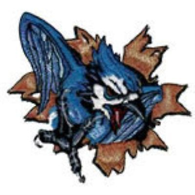 Blue Jays fighting (Mascot) Embroidery Patch