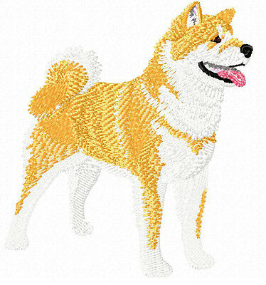 Akita (Fawn) Embroidery Patch