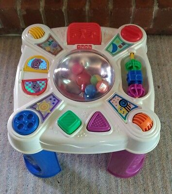 FISHER PRICE Baby/ Toddler 4 Sided Activity Table/ Centre Musical Poptivity Toy