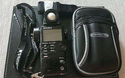 Sekonic L-508 zoom master light meter exposure meter
