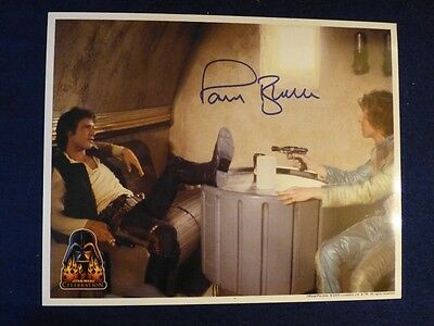 Rare Star Wars Celebration 3 8x10 Signed Autograph of Actor Paul Blake As Greedo
