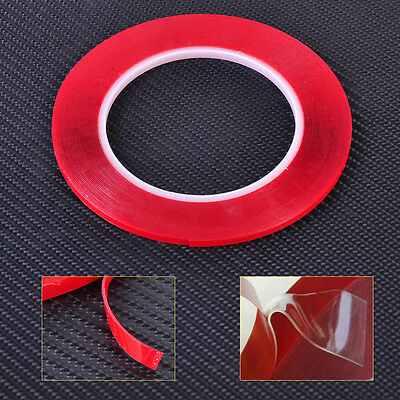 10M Double-sided Acrylic Foam Adhesive Gel Tape Film Clear Transparent LCD Phone