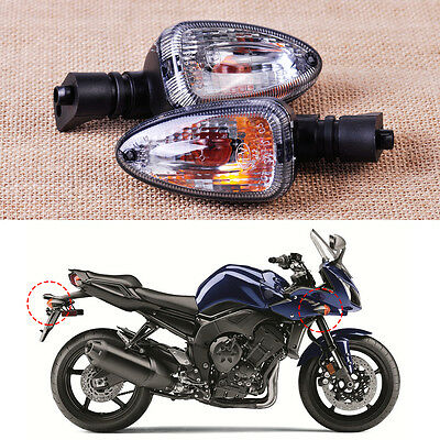 New Pair Motorcycle Turn Signal Indicator Light Lamp Fit BMW F650GS F800S K1300S