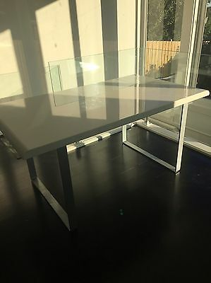 Freedom 6seater White Dining Table