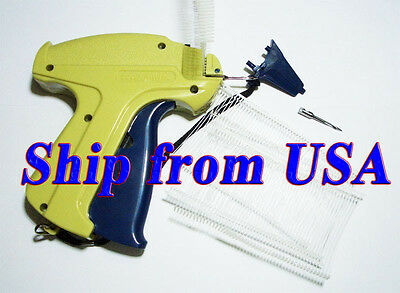 """Clothing / Garment Price Label Tag Tagging Gun + 1 Extra Needle & 2"""" 1000 Barbs"""