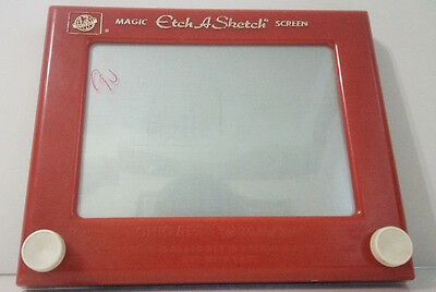 Vintage OHIO ARTS #505 ETCH-A-SKETCH MAGIC SCREEN--Great Collectible!