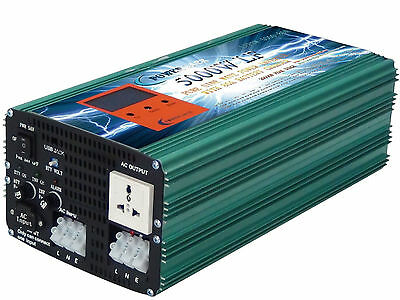 5000W LF PURE SINE WAVE POWER INVERTER DC 24V to AC 240V/Battery Charger