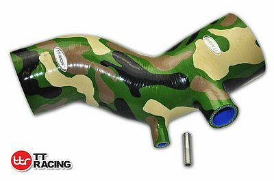 Camo Vert Durite d'induction Silicone s'adapter Honda Accord CL7 2003-2007