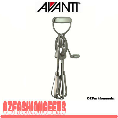 HOT DEAL* AVANTI Rotary Egg Beater Stainless Steel 12667 RRP$35.95 PI