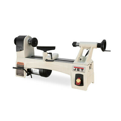 JET 719100 10 in. x 15 in. Woodworking Lathe w/ 24-Position Indexing New