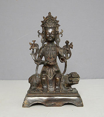 Chinese  Antique  Bronze  Statue  of  Buddha       M2012
