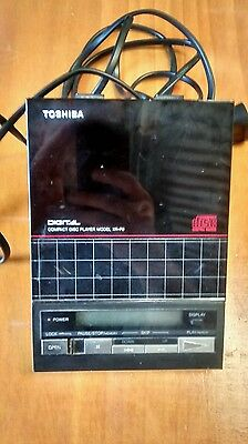 Rare Vintage Toshiba Personal CD player XR-P9 Made in Japan