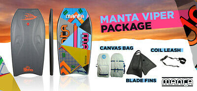 Manta Viper Bodyboard Package