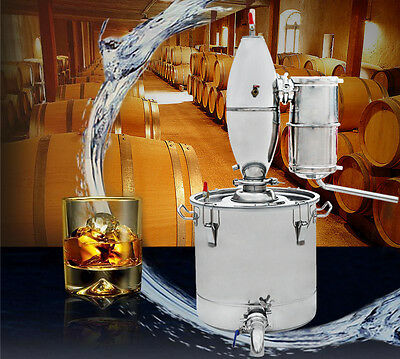 18L/25L/65L ECO Stainless Alcohol Distiller for Home Beer Rice Wine Making New