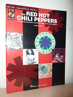 L* Partition / Songbook THE RED HOT CHILI PEPPERS  A step-by-step breakdown + CD