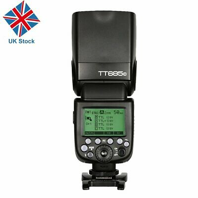 UK Godox TT685C 1/8000s E-TTL 2.4G Wireless Flash Speedlite Canon EOS 60D 7D 5D