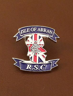Glasgow Rangers Supporters Club Lapel Pin Badge
