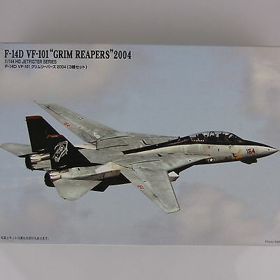 1:144 Micro Ace Tomcat F-14D VF-101 Grim Reapers 2004 US Navy 3 Jets selten rar