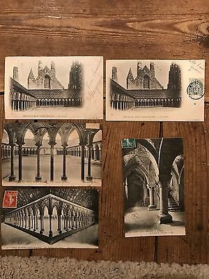 Early 1900s WW1 Period French Postcards - POSTED