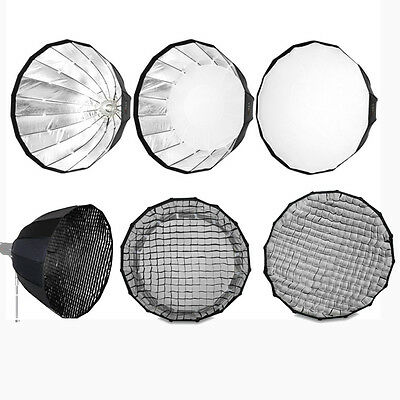 "PARA120GB 120cm 47"" Deep Hexadecagon Parabolic Honeycomb Grid Softbox For Bowens"