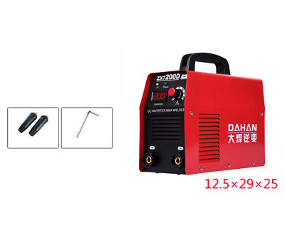 220V DC Electric welding machine Small household Inverter ZX7-200D