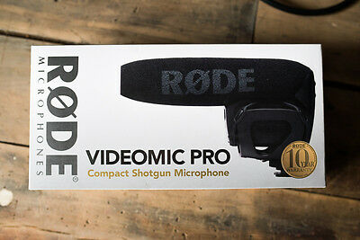 Rode VideoMic Pro-R VMPR With Rycote Shockmount