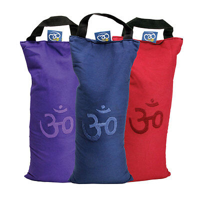 Fitness Mad Yoga Mad Posture And Stretch Enhance OM Shingle Sand Bag With Handle