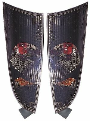 Ford Focus Mk1 Hatchback 1998-2004 Smoked Rear Back Tail Lights Lamps 1 Pair