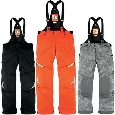 Arctiva Comp 8  Insulated Insulated Winter Cold Weather Snowmobile Snow Bibs