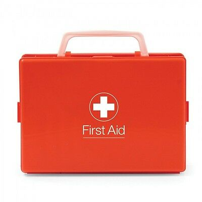 General RH2 First Aid Kit in Orange Box - Ideal for Cars, Vans, Lorries, Travel
