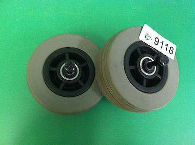 Front Caster Wheels for Quantum 600  ~set of 2 ~ 9118