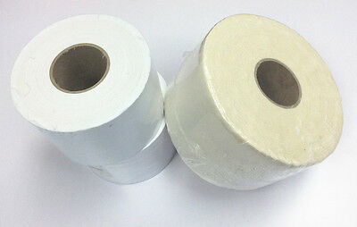 """100% Cotton Waxing Wax Strip Roll 2"""", 2.5"""", 3""""  (Bleached / Natural)"""