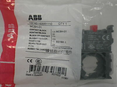 MCBH-01 ABB Contact Block (New)