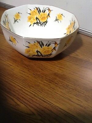 Welsh Tenby Daffodil Chinaware Fruit Bowl