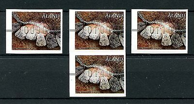 Aland 2017 MNH Beach Finds Flotsam Frama Postage Labels 4v Set Stamps