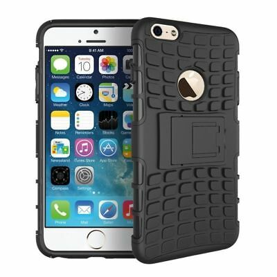 Dual Layer Heavy Duty Case with Kick Stand For iPhone 6 (4.7 Inch) Screen Phone