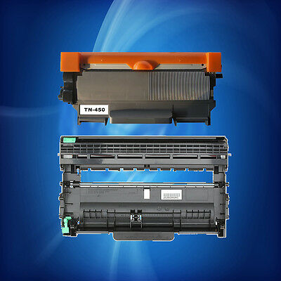 1pc TN450 toner +1pc DR420 drum for Brother MFC7360N DCP7065DN/7060D HL-2240