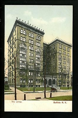 Buffalo, New York NY postcard The Lenox Building Vintage