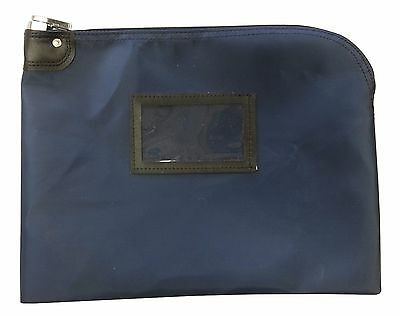 Locking Document Security HIPAA Bag 11 x 15 (Navy Blue)