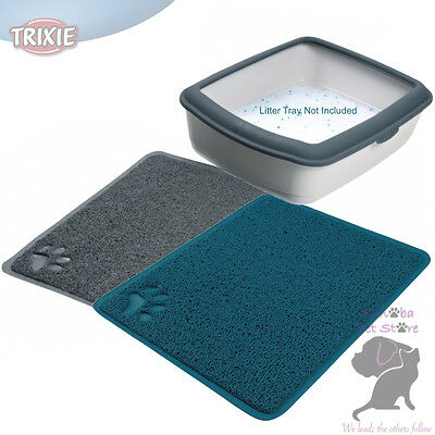 PVC Tray Mat Suitable for all litter trays removes cat litter from paws non-slip