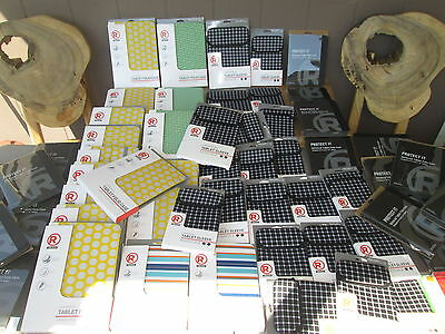 Lot of 63pc. Assorted Universal Tablet Cases  FITS 7 - 8 & 9 - 10    NEW  SU 131