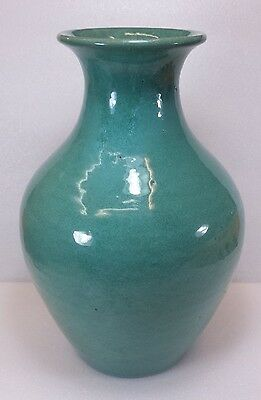 Hand Thrown North Carolina NC Smithfield Pottery Porch Floor Vase Cole / Craven