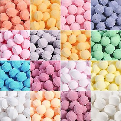 Mixed Scented Mini Bath Bombs Marbles Chill Pills Bags of 15, 20 ,30, 50 or 100